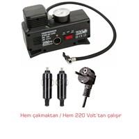220 / 12 Volt Metal Şişirici Hava Kompresörü 57b008
