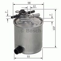 Bosch - Yakıt Filtresi Nissan Navara 2.5 Dci 2005> - Bsc F 026 402 096