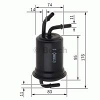 Bosch - Yakıt Filtresi A6 2.0 Tfsı 06.2005-03.2012 - Bsc F 026 403 012