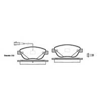Bosch - Fren Balatası Ön (Fıat Punto Bravo 1,9 Jtd) - Bsc 0 986 Tb3 079
