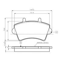 Bosch - Fren Balatası Ön Master Iı-Movano (01-10)-Interstar 02 - Bsc 0 986 Tb2 392