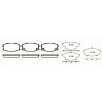 Bosch - Fren Balatası Ön (Mitsubishi Canter (01/94-) 'Canter 35 (09.2001-) [ 125,2X60x19,4 Mm ] - - Bsc 0 986 Tb2 860