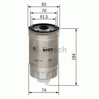 Bosch - Yakıt Filtresi Kutusu (Fıat Marea / Multipla / Bravo / Brava 1.9 Jtd) - Bsc 1 457 434 293