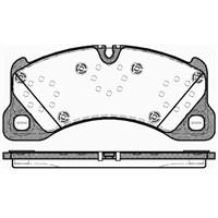 Bosch - Fren Balatası Ön (Cayenne 995 Turbo S4) - Bsc 0 986 Tb3 087