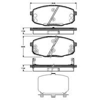 Bosch - Fren Balatası Ön Hyundaı İ30 1.4,1,6, - Bsc 0 986 Tb3 041
