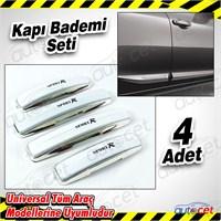 AutoCet Sport Nikelaj Beyaz Kapı Badem 4 Lü Set 3505a