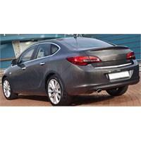 S-Dizayn Opel Astra J Bagaj Alt Çıtası P.Çelik (SEDAN) (2012>)