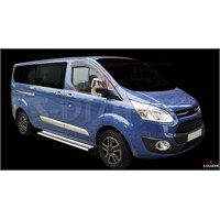 S-Dizayn Ford Tourneo Custom 2012> Model Ve Üzeri Ayna Kapağı 2 Prç. Abs Krom
