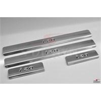 S-Dizayn Hyundai I-20 2008-2011 Model Ve Arası Kapı Eşiği 4 Prç. Krom P.Çelik