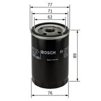 Bosch - Yağ Filtresi Opel Tüm Modeller - Bsc 0 986 Tf0 050