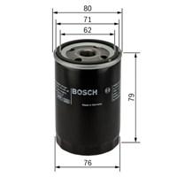 Bosch - Yağ Filtresi (Alfa Romeo : 156 1.9Jtd) - Bsc 0 986 Tf0 051