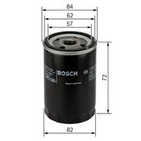Bosch - Yağ Filtresi Hyundai Accent Era Benzinli - Bsc 0 986 Tf0 059