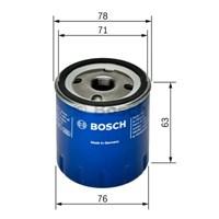 Bosch - Yağ Filtresi (Renault 9-19-Clıo-Kango-Megane) - Bsc 0 986 Tf0 030