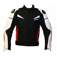 Colombia Motosiklet Mont Hörgüçlü (Kırmızı-Siyah)