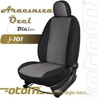 Otom Dacia Sandero Stepway 2009-2012 J-101 Siyah Araca Özel Koltuk Kılıfı