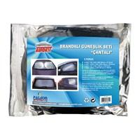 Brandalı Güneşlik Seti Çantalı 6 parça
