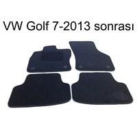 Z tech Volkswagen Golf 7 2013 Sonrası Araca Özel Halı Paspas