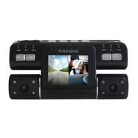 Piranha Spycam W Type Digital HD Çift Kameralı Araç Kayıt Cihazı