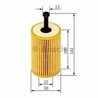 Bosch - Yağ Filtresi (Citroen: Berlıngo 1.1) - Bsc 0 986 Tf0 093