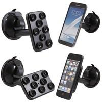Araç İçi Telefon - Tablet - Navigasyon Tutucu ( 8 Vantuzlu Döner Başlıklı )