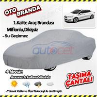 Autocet Citroen Ds3 Araca Özel Oto Brandası (Miflonlu, Dikişsiz) 3973A