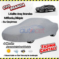 Autocet Dacia Duster Araca Özel Oto Brandası (Miflonlu, Dikişsiz) 3978A