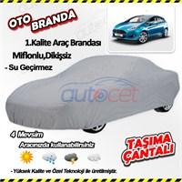 Autocet Ford Fiesta Araca Özel Oto Brandası (Miflonlu, Dikişsiz) 4001A
