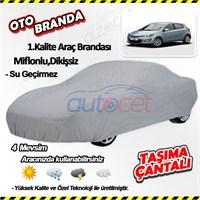 Autocet Hyundai İ20 Araca Özel Oto Brandası (Miflonlu, Dikişsiz) 4022A