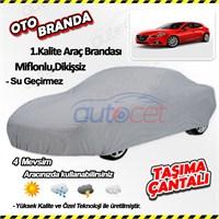 Autocet Mazda 3 Araca Özel Oto Brandası (Miflonlu, Dikişsiz) 4047A