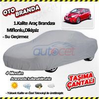 Autocet Nissan Note Araca Özel Oto Brandası (Miflonlu, Dikişsiz) 4068A