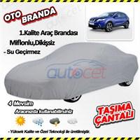 Autocet Nissan Qashqai Araca Özel Oto Brandası (Miflonlu, Dikişsiz) 4069A