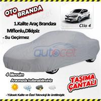 Autocet Renault Clio 4 Araca Özel Oto Brandası (Miflonlu, Dikişsiz) 4107A