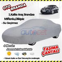 Autocet Renault Latitude Araca Özel Oto Brandası (Miflonlu, Dikişsiz) 4112A