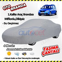 Autocet Skoda Roomster Araca Özel Oto Brandası (Miflonlu, Dikişsiz) 4128A