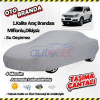 Autocet Ssangyong Rexton Araca Özel Oto Brandası (Miflonlu, Dikişsiz) 4133A