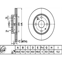 Bosch - Fren Diski Ön Nıssan Navara - Bsc 0 986 479 352