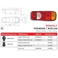Mars - Stop Lambası Plakasız (Renault Premıum Kamyon) Tesısatlı - Mrs 611253