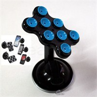 Dreamcar Süper Vantuzlu Siyah/Mavi Telefon/Pda/Navigasyon Tutucu