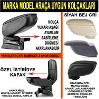 Opel Corsa D Kasa Sport Tip Dikişli Kolçak Siyah
