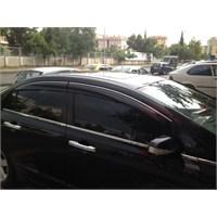 Honda Civic Mugen Cam Rüzgarlığı (Krom Şeritli) 2006-2012
