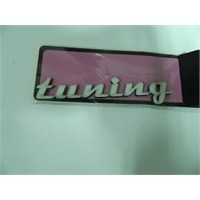 Speed tuning Sticker 12x2cm Beyaz