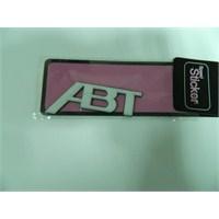 Speed Abt Sticker 9x3cm Beyaz