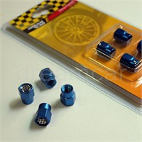 Dreamcar Aluminyum Sibop Kapağı 4'lü Set Mavi 8010038