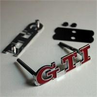 GTI Metal Amblem Arkadan Somunlu 8000673