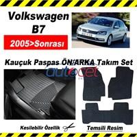 Volkswagen Passat B7 2005> Kauçuk Ön / Arka Araca Özel Paspas Seti