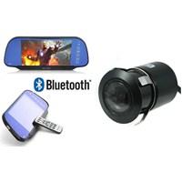 ModaCar 7 inç Kameralı AYNA LCD Ekran Bluetooth 348817