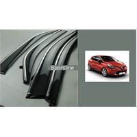 Sportline NİKELAJ HATLI RENAULT CLIO 4 2013 >> 4 Kapı Rüzgarlık Seti 428848