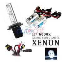 AutoCet H7 6000K Xenon Yedek Ampulü 2917a