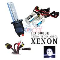 AutoCet H3 8000K Xenon Yedek Ampulü 2924a