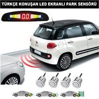 AutoCet GRİ Sensörlü TÜRKÇE KONUŞAN Park Sensörü 4217a